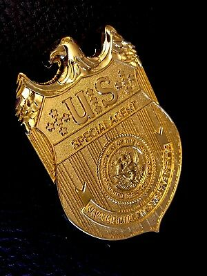 Historisches US Police Badge: NCIS ✪ Special Agent ✪ Navy ✪ Military Police ✪