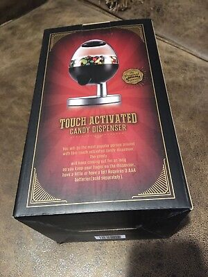 Touch Activated Candy Dispenser  Sansonico New in Box Black