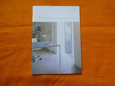 Original DIETER RAMS Möbel Katalog 606 620 Sessel Tisch Regal brochure Prospekt