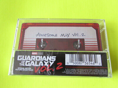 Guardians Of The Galaxy Awesome Mix Vol. 2 LIMITED EDITION RED Cassette sealed