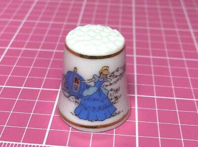 Disbey Thimble Cinderella And Fairy Godmother