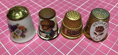 Lot Of 4 Thimbles Germany Austria Spain