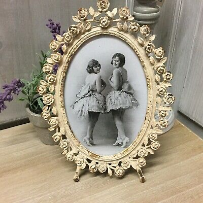 Photo Frame Vintage Cream Chic French Country Shabby Picture
