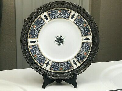 1925 Royal Worcester Sterling Silver Plate