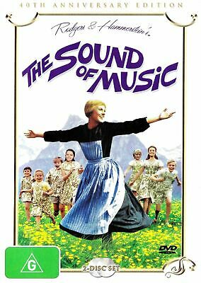 The Sound of Music (DVD, 2 Discs) 40th Anniversary Edition Region 4  New/Sealed