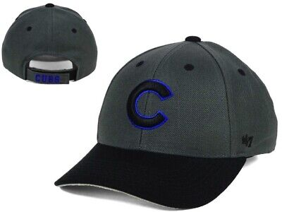 aabe41158f2 New NWT MLB Chicago Cubs 47 Brand 2 Tone MVP Adjustable Youth OSFA Hat Cap  GD
