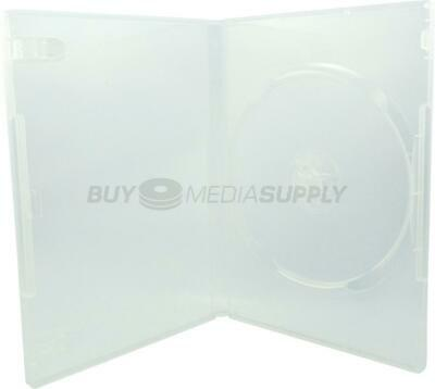14mm Standard Clear 1 Disc DVD Case