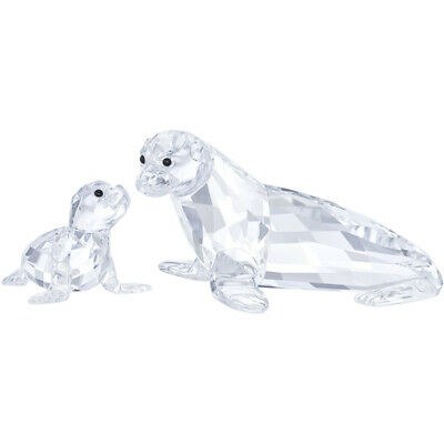 SEA LION MOTHER WITH BABY by Swarovski 5275796