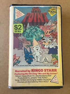VHS Ex Rental THE POINT Clamshell Rare