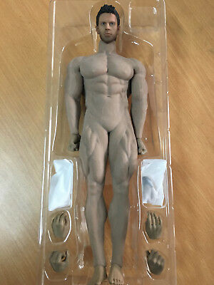 NEW Phicen M35 Chris Redfield Male Seamless Super Muscular Body in stock