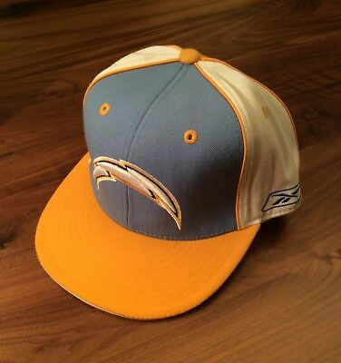 NWOT Reebok Authentic San Diego Chargers NFL Football Fitted Hat Cap  EMBROIDERED ccb07c061