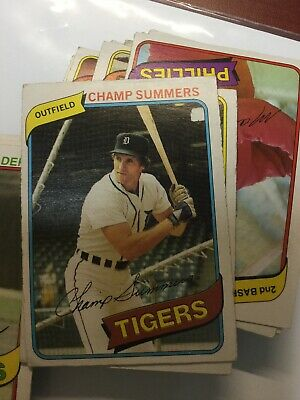 O-Pee-Chee Baseball Cards 1980 Single Cards  Get Your Favourite Or Fin Set