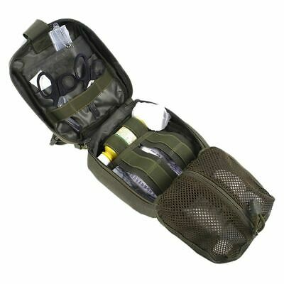 Tactical First Aid Kits Safety Camping Survival Medical Utility Pouch Package