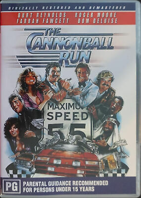 The Cannonball Run (DVD, 2005)