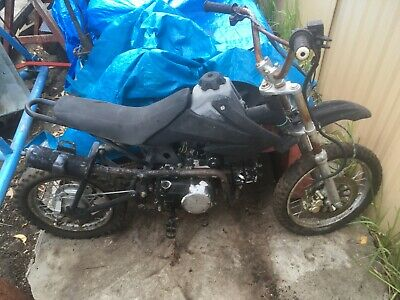 mini bike rough condition selling as spares.as is where is