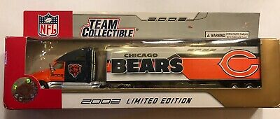 Chicago Bears 2002 Limited Edition Collectible Toy Truck Car NFL Football Kids