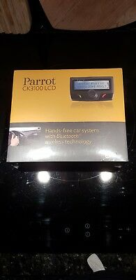 Parrot CK3100 LCD hands free kit-Brand New