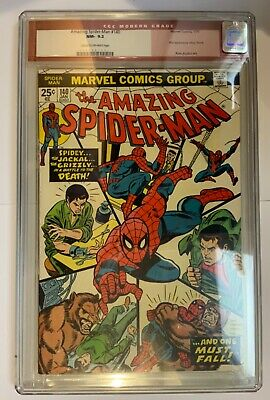Amazing Spider-Man 140 CGC 9.2 Bronze Age Jan 1975, First Appearance Glory Grant