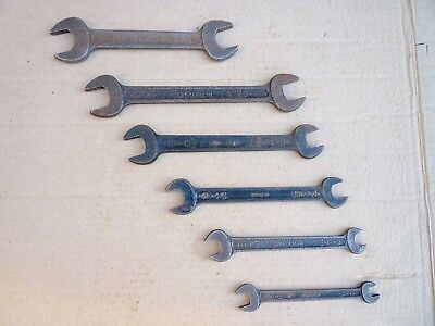 Superslim TW Whitworth Spanner Set  x 6