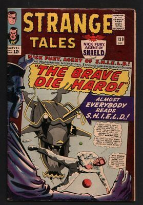 Old 1965 American Comic Strange Tales 139 excellent cond.  #147
