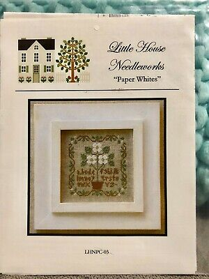 "Cross Stitch Pattern ""Paper Whites"" by Little House Needleworks"