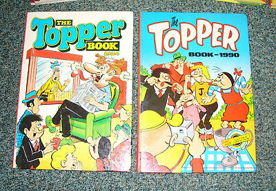 Topper Annuals 1984 & 1990 - Excellent Condition