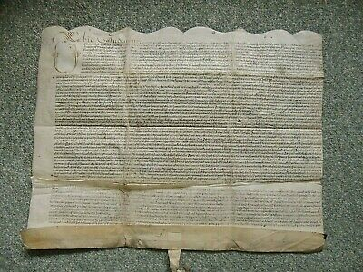 1653.VELLUM INDENTURE.   HOWARD Family.   Sirs. Edw. & Wm.  +  Earl Chas.  YORK.