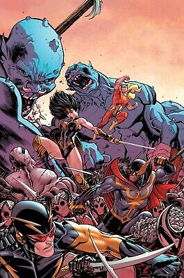 Avengers #18 Cover A (War of the Realms) Marvel Comics PREORDER - SHIPS 24/04/19