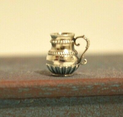 Miniature Sterling Silver Cup Dollhouse 1:12 Artist Peter Acquisto