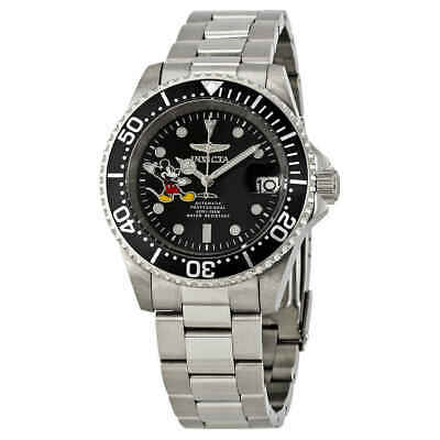 Invicta Disney Limited Edition Automatic Black Dial Men's Watch 24753