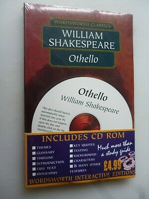 Othello by William Shakespeare - Wordsworth Classic with CD Rom  ( New/Sealed )