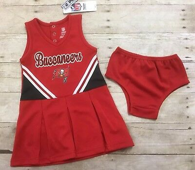 674e7a92 TAMPA BAY BUCCANEERS NFL Infant Toddler 2-Piece Cheerleader Outfit ...