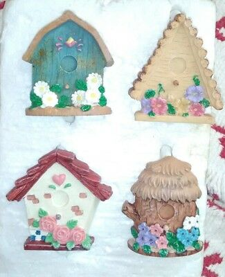 12 Rare And Unusual Bird House Shower Curtain Hooks Rings Hangers Very Cute