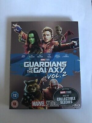 Marvel - Guardians Of The Galaxy Vol 2 Blu Ray Slipcover Only