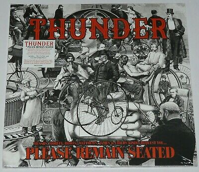 Thunder Please Remain Seated LP New Limited DBL ORANGE Vinyl New/Official