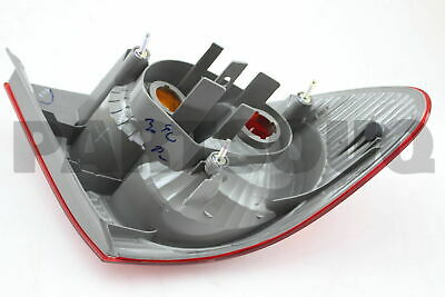 8155102120 Genuine Toyota LENS & BODY, REAR COMBINATION LAMP, RH 81551-02120