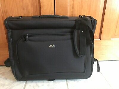 cf7f1fdf670f Samsonite Ultravalet Garment Suit Travel Bag Carry-On Black Business Bag New