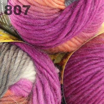 Sale Lot 3Ballsx50gr New Knitting Yarn Chunky Colorful Hand Wool Wrap Scarve 807