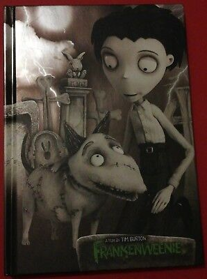 Tim Burton's Frankenweenie Note Book with Book Mark. New in Mint Condition.
