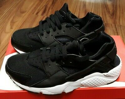 d2a5acfe6a687 654275-011 Nike Huarache Run (GS) Grade School Kids Athletic Shoes - Black