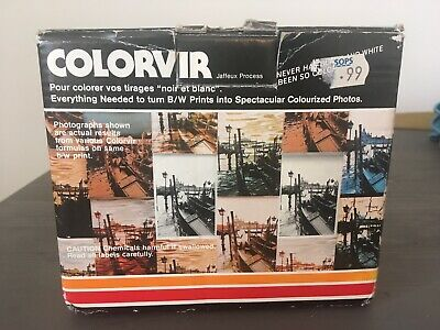 Full Set Of Original Colorvir Dyes For Photographic Prints For Lomography