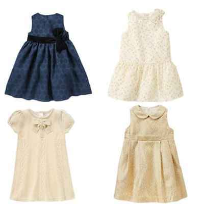 Gymboree Holiday Shine 2T 3T 4T Christmas Dress Holiday Gold Blue Sparkle 14