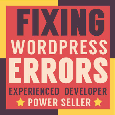 WordPress Support Service - Fix Plugins Issues Errors Moving Hosting Problems