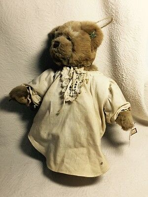 Annette Funicello Collectible Bear Co.with Lace Collar And Heart Pin Without Return Annette Funicello Dolls & Bears