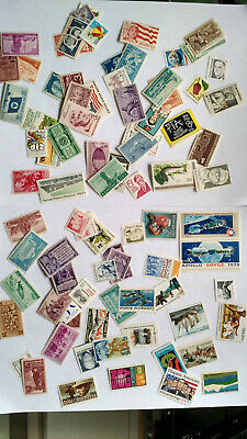 Lot of 89 different  MINT US Postage Stamps, Vintage MNH, 3-29¢