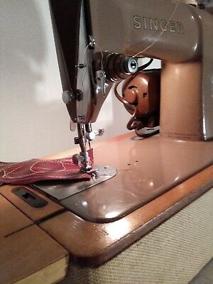 Vintage Singer 185 k electric sewing machine. PAT TESTED AND VIDEO