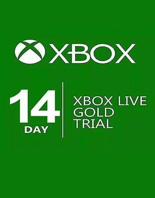 14 Day Xbox Live Gold Membership Trial Code Microsoft FAST DELIVERY.