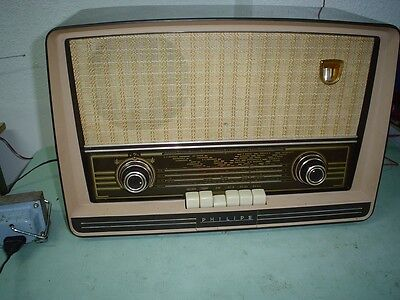Radio A Valvulas Philips Be-562-A