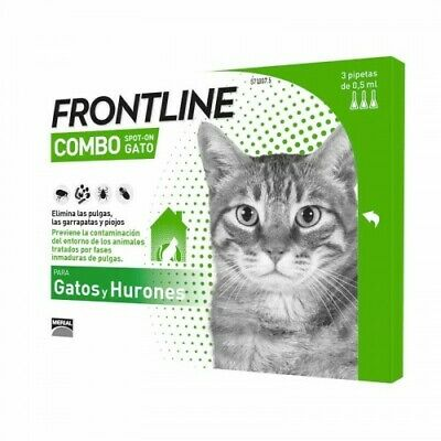 Frontline Combo for Cats - Tick and Flea Spot On treatment - Free Shipping
