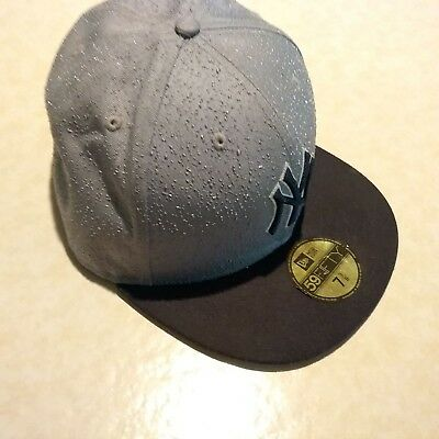 1dfebb03a277e NEW YORK YANKEES MLB Lime Green New Era 59Fifty Fitted Hat Cap 7 3 8 ...